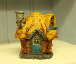 Yellow Roof Fairy House