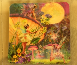 Fairy 3D Coasters - Price €1.25