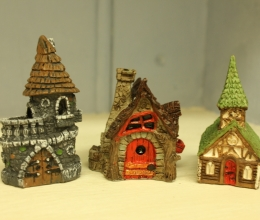 Fiddlehead Miniature Fairy Houses