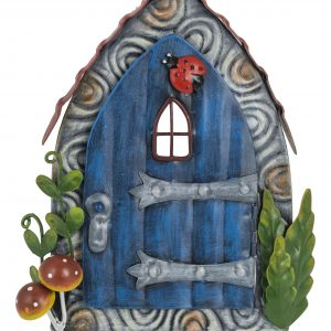 95320 blue with mushrooms pixie door