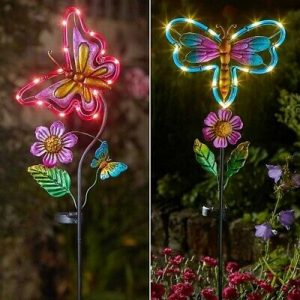 Solar-Butterfly-Dragonfly-Stake-Light-butterfly-dragonfly-LED